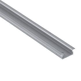 LED профиль алюминиевый врезной Braz Line анод серебро