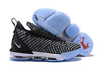 Мужские баскетбольные кроссовки Nike Lebron 16 Black/Grey
