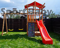 Детский игровой комплекс из дерева
