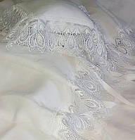 Льняное постельное белье Sunny с кружевом для детской кроватки