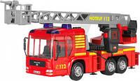 Пожарная машина Dickie Toys со звуковыми световыми и водными эффектами 43 см 3716003