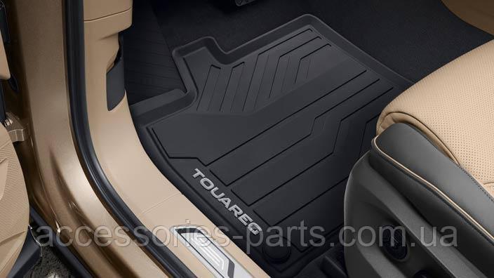 Коврики в салон резиновые VW Touareg 2018 Новые Оригинальные