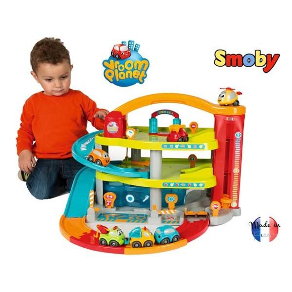 Игровой набор паркинг детский Мой первый гараж SMOBY 120401