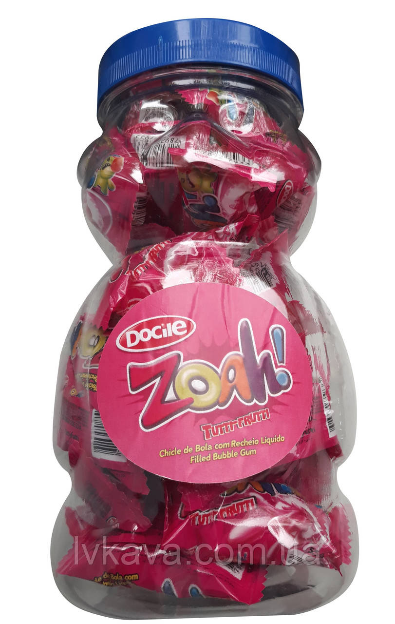 Жевательная резинка  Zoah Tutti frutti , 5,5  гр х 40 шт