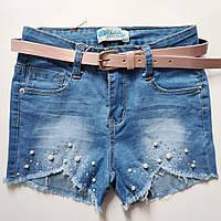Шорты джинс для девочки  8-14 лет Венгрия, фото 1