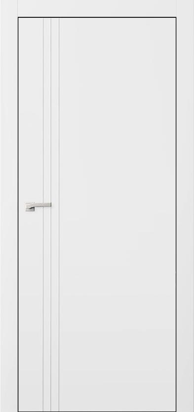 Двери L7+молдинг Полотно+коробка+2 к-кта наличников+добор 90 мм, крашенные, серия Lines