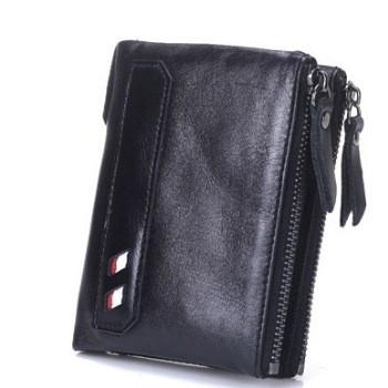 Кожаный мужской кошелек Deep Person art 9073