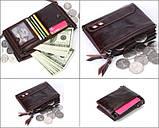 Кожаный мужской кошелек Deep Person art 9073 , фото 3