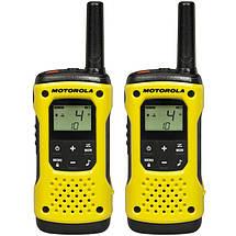 Портативная водонепроницаемая рация Motorola TLKR T92 H2O Yellow - 4 шт, фото 3