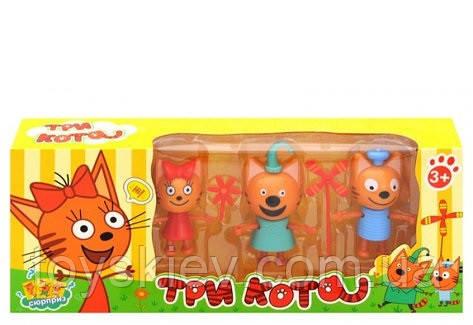 Игровой набор «Три кота» 3 персонажа