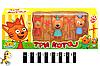 Игровой набор «Три кота» 3 персонажа, фото 2