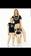 Парные футболки для всей семьи