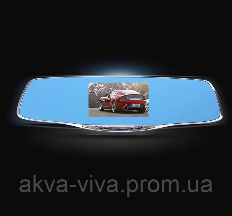 """Видеорегистратор зеркало  4.3"""" с 2 камерами и системой видеопарковки. Модель ЕА630"""