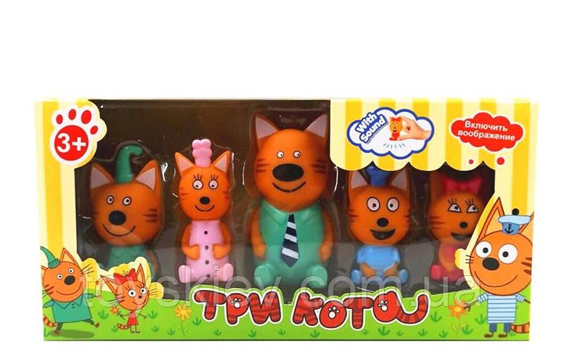 Игровой набор «Три кота» 5 фигурок PT3014