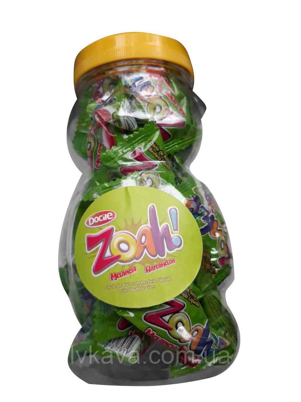 Жевательная резинка  Zoah арбуз , 5,5  гр х 40 шт