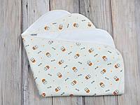 """Непромокаемая пеленка """"milk small"""" для новорожденного (р. 60*80 см) ТМ MagBaby 130020, фото 1"""