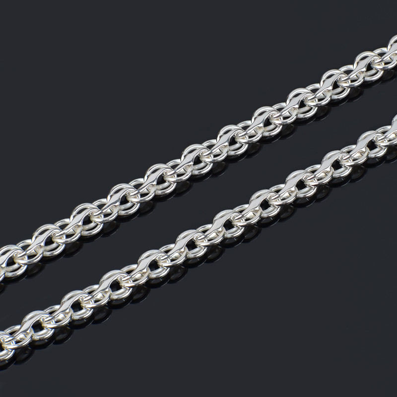 Серебряная цепочка Бисмарк