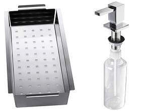 Кухонная мойка Alveus CRYSTALIX 10L (стекло белое) (с доставкой), фото 2