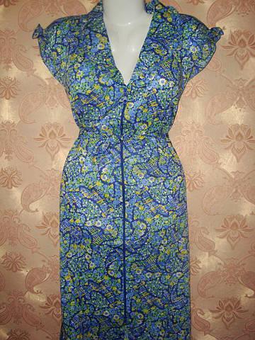Женские халаты в цветочек летние
