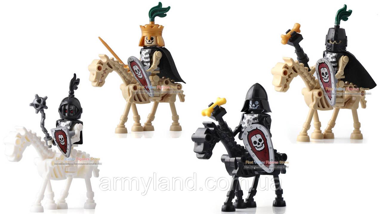 Всадники рыцари скелеты лего аналог пак№2