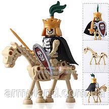 Всадники рыцари скелеты лего аналог пак№2, фото 2