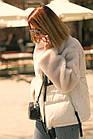 Куртка Из Полиэстра Комбинированная С Овчиной Оversize 0148ШТ, фото 8
