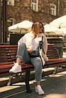 Куртка Из Полиэстра Комбинированная С Овчиной Оversize 0148ШТ, фото 10