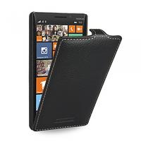 Кожаный чехол (флип) TETDED для Nokia Lumia 930 чёрный