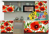Виниловые наклейки на кухню Маки