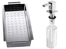 Кухонная мойка Alveus Cristalix 20 R (стекло белое) (с доставкой), фото 2