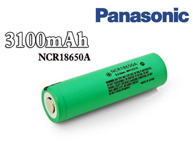 Аккумулятор Panasonic NCR18650A 3100mAh/5,9A