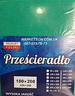 Простынь наматрасник 160х200 махровая на резинке. Польша.