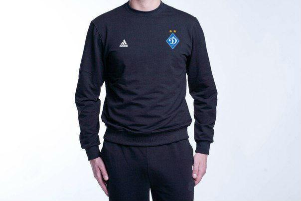 Мужской спортивный костюм Adidas-Dynamo, Динамо Киев, Адидас, черный
