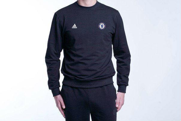 Чоловічий спортивний костюм Adidas-Chelsea, Челсі, Адідас, чорний