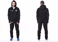 Мужской спортивный костюм Adidas-Bayern, Бавария, Адидас, черный