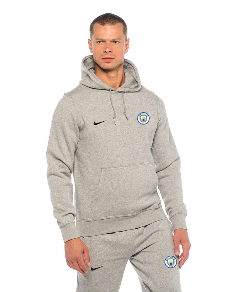Мужской спортивный костюм Манчестер Сити, MC, Nike, Найк, серый