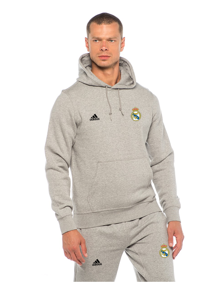 Мужской спортивный костюм Реал Мадрид, серый