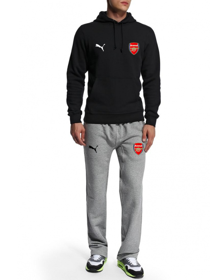 Мужской спортивный костюм Arsenal, Арсенал, Puma, Пума