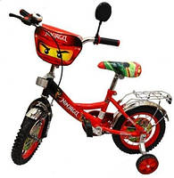 """Детский велосипед мульт 12"""" P 1244 N-1 Нинджяги, фото 1"""