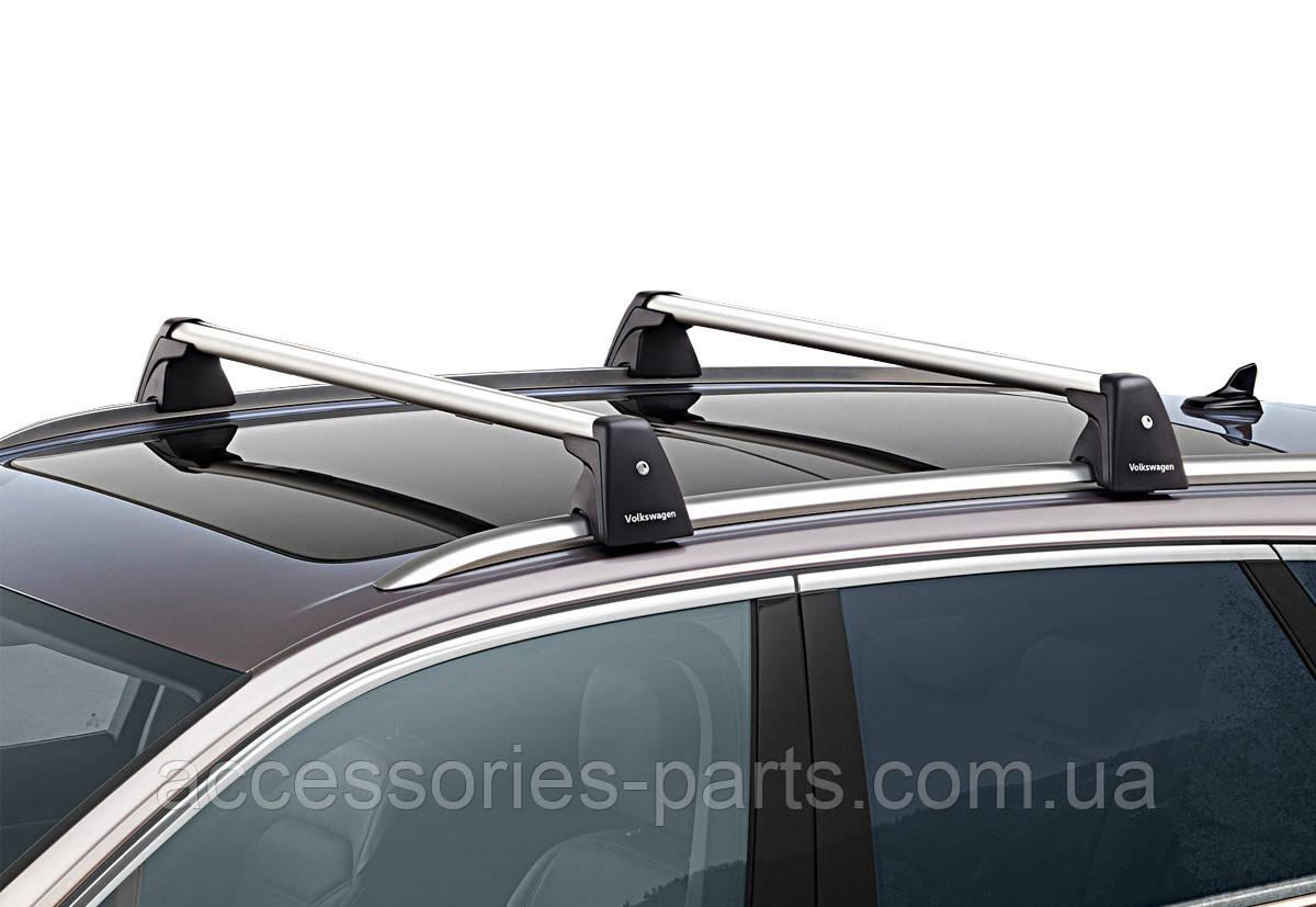 Поперечины на рейлинги VW Touareg 3 Новые Оригинальные