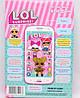 Детский интерактивный телефон Куклы ЛОЛ LOL DT-030H, фото 2