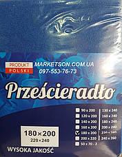 Простынь наматрасник 90х200 махровая на резинке. Польша., фото 3