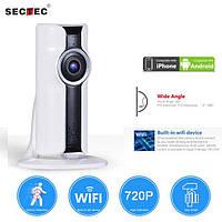 VR камера Sectec HIP307W фишай айпи вайфай ip wifi угол обзора 180