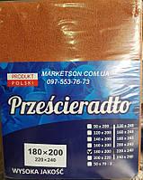 Простынь наматрасник 90х200 махровая на резинке. Польша.
