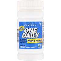 21st Century, One Daily, для мужского здоровья, 100 таблеток