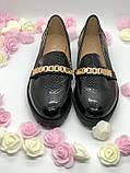 Черные туфли лаковые в наличии, фото 4