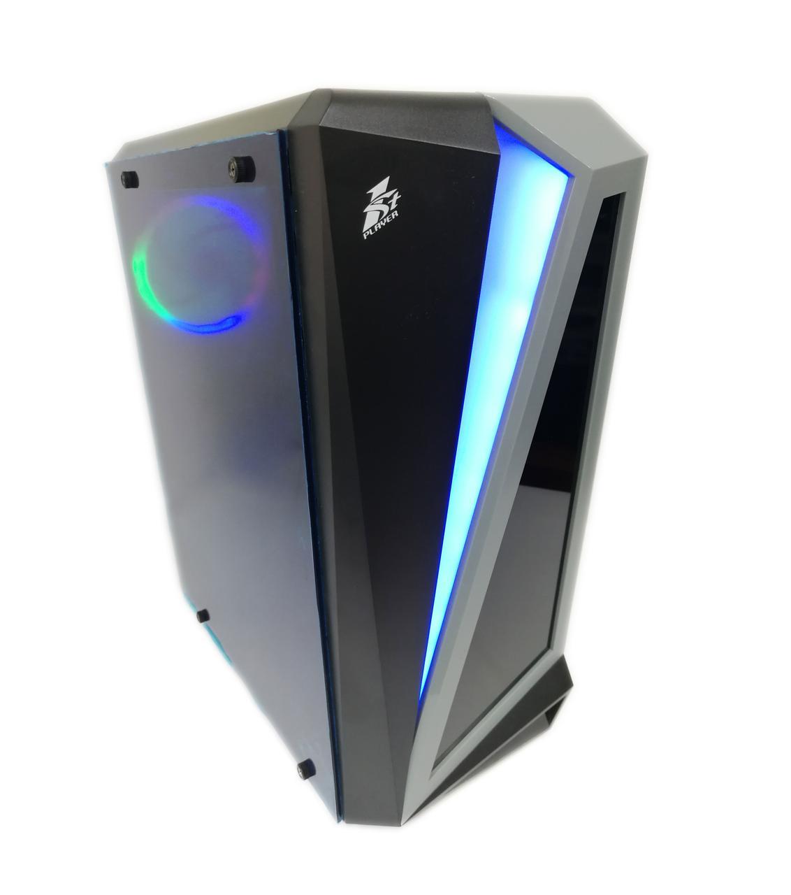 Игровой компьютер First Player ATX, Intel Core i5-4590, 16ГБ DDR3, SSD 120ГБ, HDD 500GB, GTX 1060 3GB