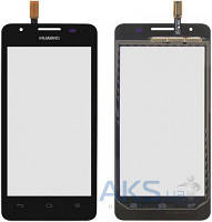 Сенсор для телефона Huawei Ascend G510 U8951D, Ascend G520, Ascend G525 Original Black