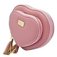 Кошелёк-сумка женский Forever Young  33004-darkpink Тёмно-розовый