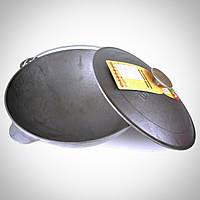 Казан чугунный Биол - 580 х 230 мм х 40 л, татарский с крышкой